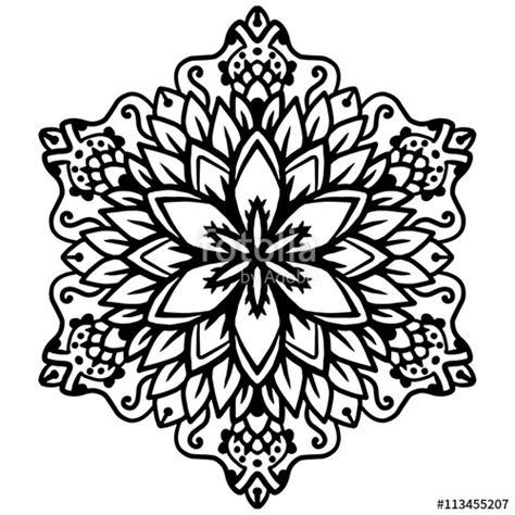 mandala coloring pages vector quot black mandala for coloring mandala vector coloring page