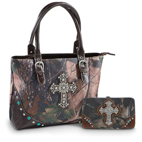 camouflage purse and wallet 194083 purses handbags at sportsman s guide