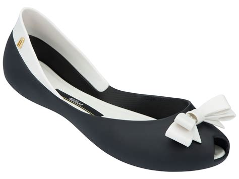 black and white flats shoes two tone black and white ballet flats with bow