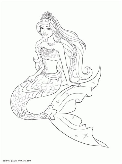 printable coloring pages barbie mermaid barbie coloring pages to print