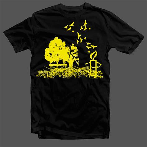 design your t shirt australia playful modern t shirt design for amnesty international