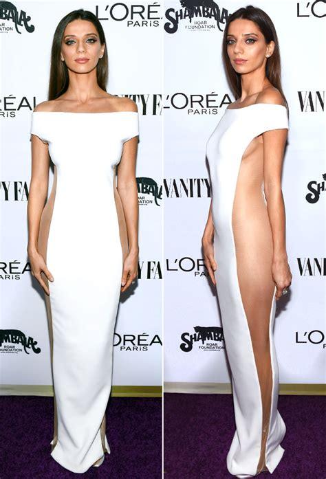 Angela Dres westworld angela sarafyan wears sheer dress photos