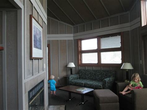 Maumee Bay State Park Cabins by Family Room Of Two Bedroom Cabin Picture Of Maumee Bay