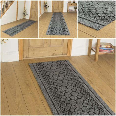 Non Slip Runner Rug Cork Grey Hallway Carpet Runner Rug Mat For Anti Non Slip Gel Back Ebay