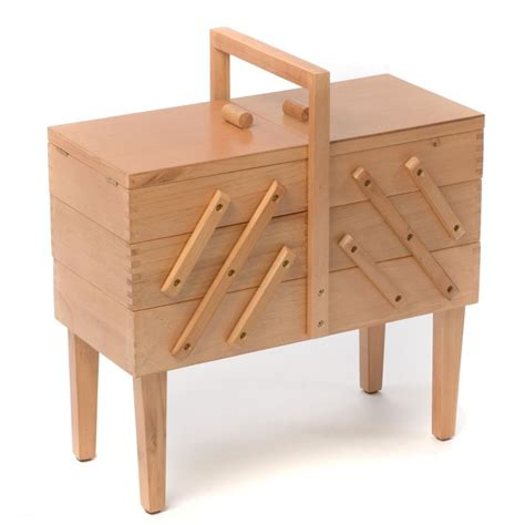 wooden cantilever sewing box hobbycraft