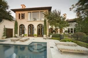 Mediterranean Style Mansions Mediterranean Home In The Memorial Park Section Of Houston