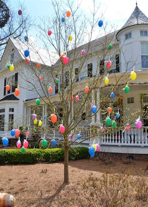 easter backyard decorations top 22 cutest diy easter decorating ideas for front yard