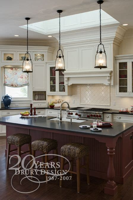 lighting over kitchen island love the pendant lights over the island dream home