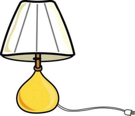 Lamp clipart lampshade   Pencil and in color lamp clipart