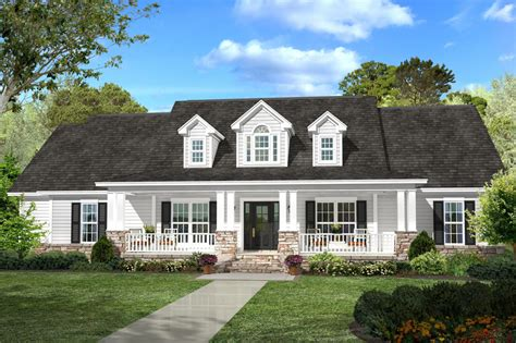 Country Style House Plan 4 Beds 2 5 Baths 2420 Sq Ft Farmhouse Plans