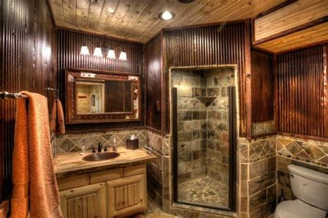 cabin bathrooms ideas 17 best images about cabin interiors on king rustic cabin decor and rustic bathrooms