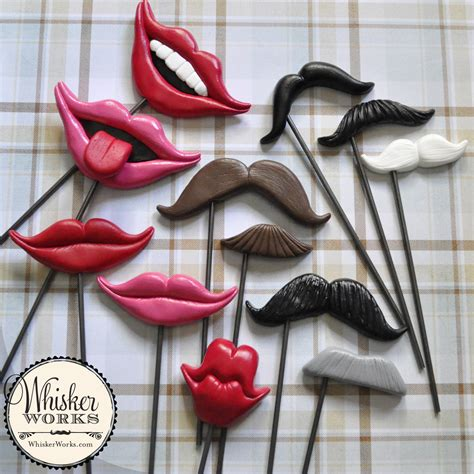 Handmade Photo Booth Props - handmade hilarity inspiration for photo booths and backdrops