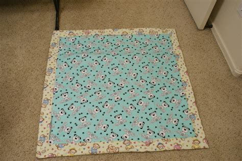 Baby Quilt Binding by Quilting Self Binding Duper Easy Quilt