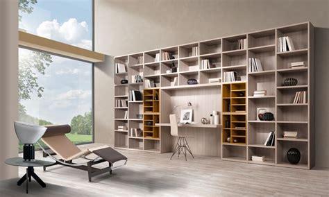 libreria con scrivania incorporata librerie a ponte massima flessibilit 224 progettuale librerie