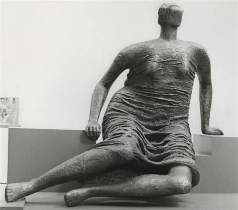draped seated woman henry moore works in public collections henry moore