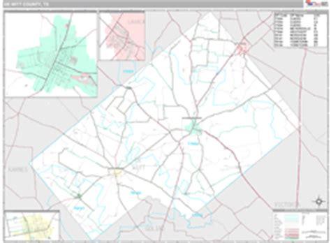 dewitt county texas map dewitt county tx zip code wall map premium style by marketmaps