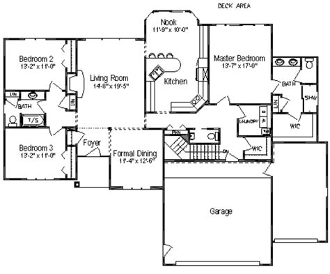 2 bed 2 bath house plans 2018 traditional style house plan 3 beds 2 5 baths 2018 sq ft plan 49 114