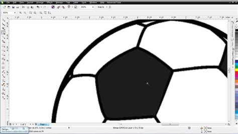 tutorial vector corel draw x6 coreldraw x6 for beginners simple vector trace project