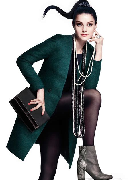 jessica stam arlenis sosa model h m s latest accessories