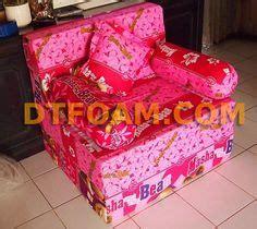 Kasur Busa Aa sofa bed minimalis coklat tua polos special inoac edition