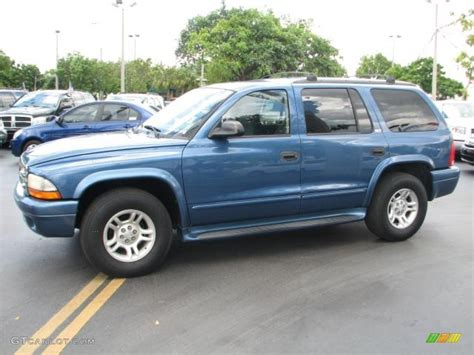 dodge durango 2002 atlantic blue pearl 2002 dodge durango slt exterior photo