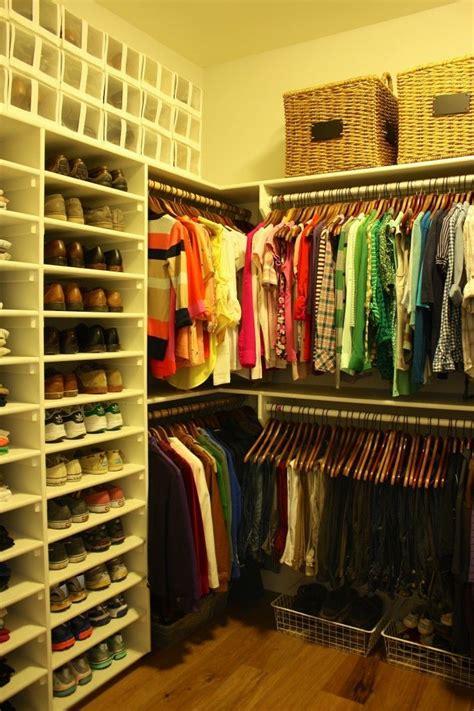 organized shoe closet 25 best ideas about mens closet organization on