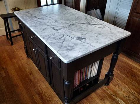marble topped kitchen island kitchen island