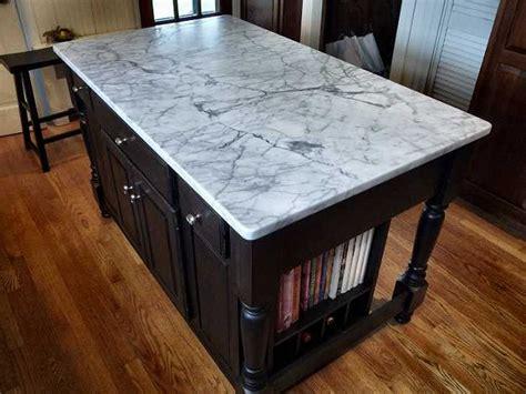 kitchen island marble top ? Roselawnlutheran