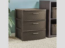 Sterilite 3 Drawer Wide Espresso Weave Tower | Walmart Canada Compare Registry