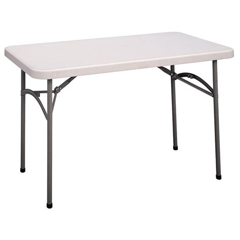 4 Foot Folding Table Cosco 4 Molded Folding Table 14148wsp1 Folding Chair Depot