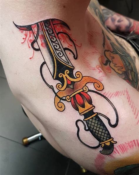 dagger tattoos tattoo insider