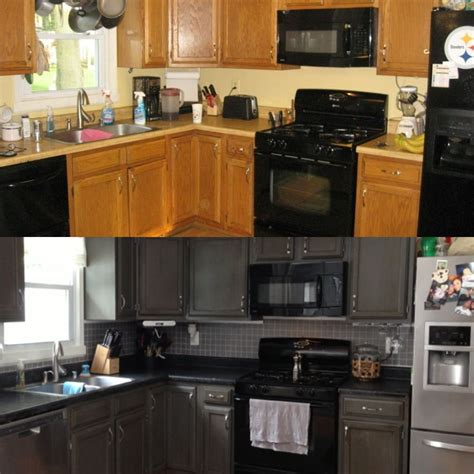 transform kitchen cabinets rustoleum countertop transformation and cabinet
