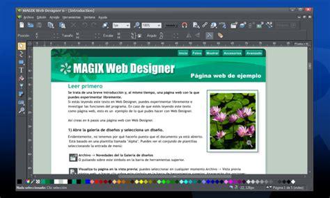 Design Vorlagen Magix Webdesigner Magix Web Designer 7 Premium Vorlagen