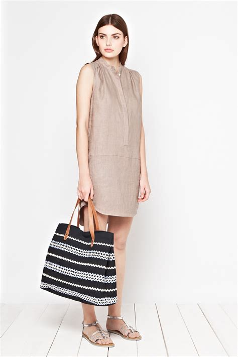 Beachlunchlounge Jumper by Seahouses Linen Tunic Dress Dresses Great Plains