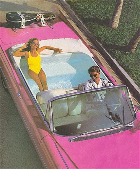 limos with tubs in them pink convertible limo with a swimming pool in the back