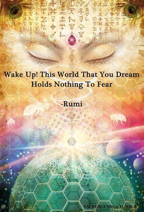 wake   world   dream holds   fear