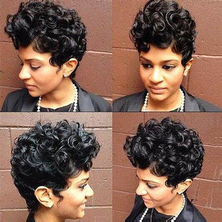 40+ short curly hairstyles for black women | short