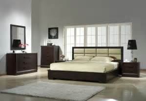 Contemporary Bedroom Furniture Set Leather Designer Bedroom Furniture Sets Modern