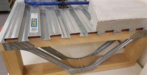 Lewis Deck Model showing eco joists with underfloor