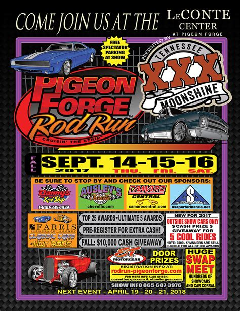 pigeon forge fall rod run pigeon forge tn south east