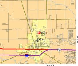 map of katy area service areas
