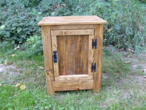 building cabinets out of pallets diy pallet nightstand or floor cabinet pallet furniture