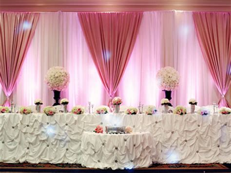 table drapes for weddings 1 niagara falls wedding drape rentals ceiling drapes