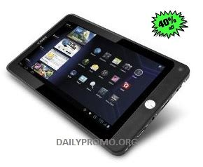 Promo Tablet Android affordable coby kyros 7 inch android tablet coupons and