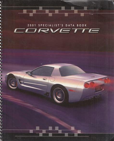car repair manuals download 2001 chevrolet corvette security system 2001 chevrolet corvette repair shop manual original 3 volume set