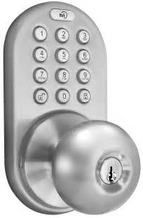 keyless door lock touchpad electronic knob keypad