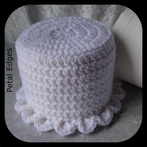 decorative single toilet paper cover custom bath tissue cover crochet toilet paper cover any