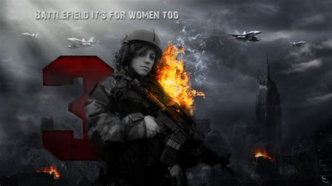 google bf3 wallpaper girl battlefield 3 wallpaper by ekan94 on deviantart