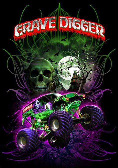 who drives grave digger monster truck it s the black and green wrecking machine grave digger