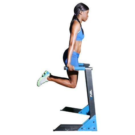 triceps swing dip stand workout body chest station swing exercise tricep